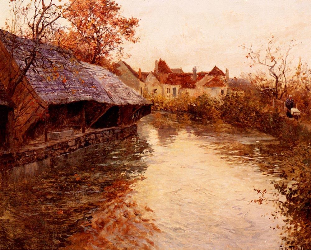 A Morning River Scene